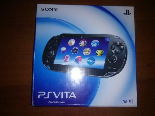 Psvita Sony Wifi, Nuevo De Caja, Original
