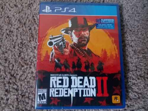 Red Dead Redemption 2 Ps4 Nuevo Sellado