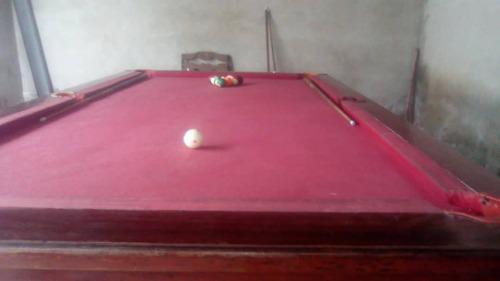 Remato Mesa De Pool, Medidas Profesionales