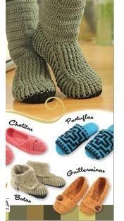 Revistas Digitales De Zapatos Y Botines Tejidos En Ganchillo