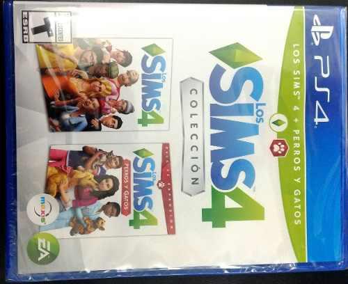 Sims4 Coleciòn Gatos Y Perros Ps4 Nuevo Sellado En Tienda.