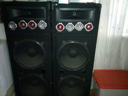 Sonido Casero Cajones Doble De 15