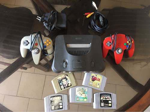 Vendo Nintendo 64 Usado En Perfecto Estado