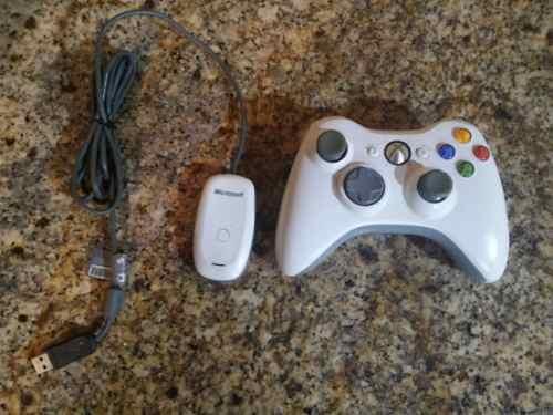 Control De Xbox 360 Inalambrico Con Receptor Para Pc