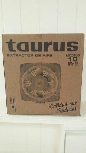 Extractor De Aire Tauro Taurus De 10 P. Plastico / 50 Vrds