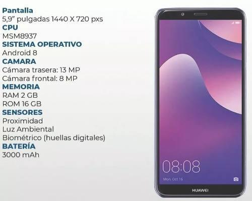 Huawei Y7 2018 16gb Rom Y 2gb Ram Android 8.0 Oreo