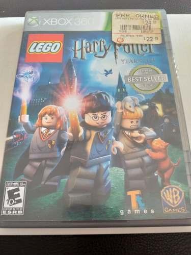 Juego Fisico Lego Harry Potter Years 1-4 Como Nuevo