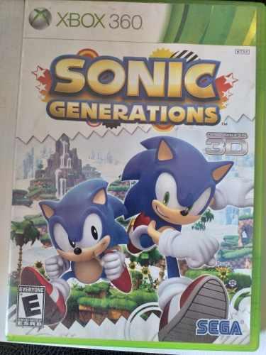 Juego Sonic Generations Original Para Xbox 360