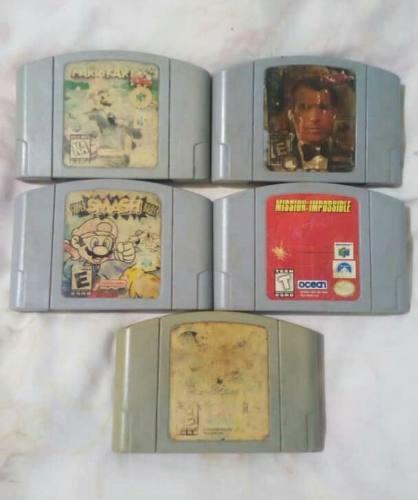 Juegos De Nintendo 64 Funcionales