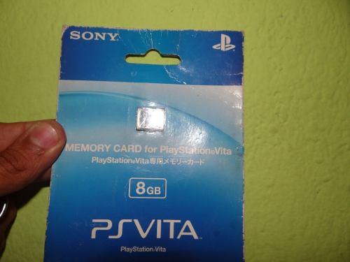 Memoria Original Ps Vita 8gb Nueva Sellada En Blister