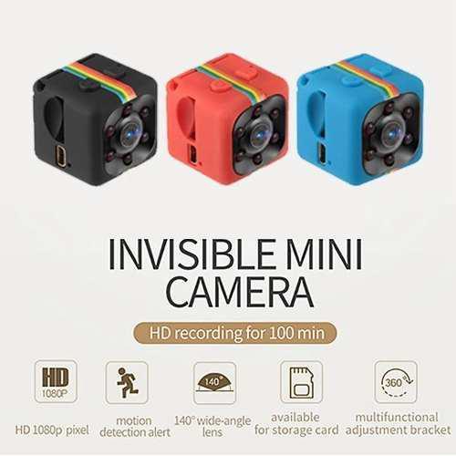 Mini Cámara Sq11 Original 1080p 720p Grabadora De Vídeo