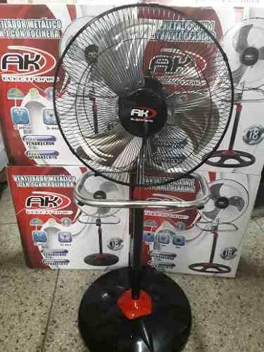 Ventilador 2 En 1 Metalico Ak De Rolineras