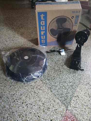 Ventilador Taurus De Pared 18 G-t Negro Nuevo/50vrds