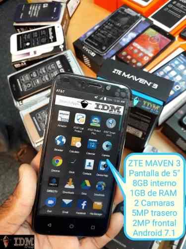 Zte Maven 3 _75 Us_ Telefono Celular Mono Sim Liberad