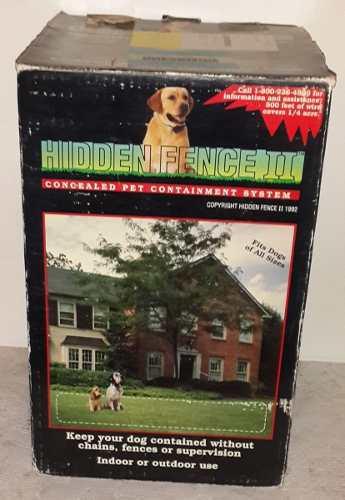 cerco Eléctrico Para Perros Marca Hidden Fence Ii**