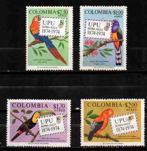 Estampillas Colombia  Nuevas Serie Completa