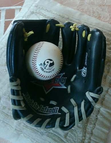 Guante Infantil Y Pelota De Beisbol Tamanaco