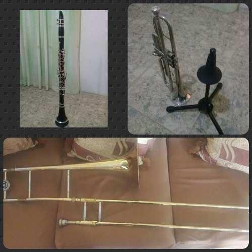 Trompeta, Trombon Y Clarinete En Venta