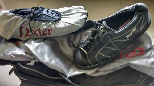 Zapatos Y Maleta Para Bowling Marca Goodyear Talla