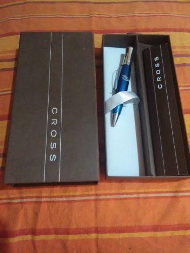Bolígrafo Cross 100% Nuevo Y Original Blue