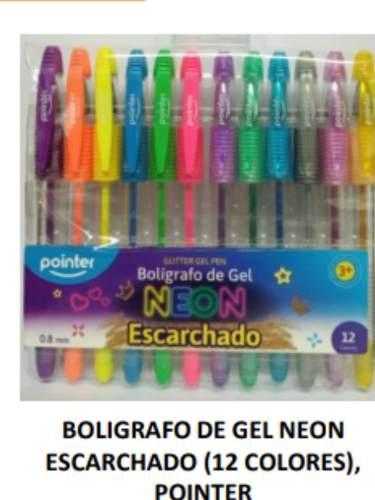 Bolígrafos De Gel Escarchado Pointer