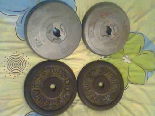 Discos De Pesas 24.3kgs Total