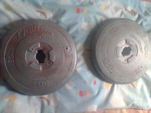 Discos De Pesas 28.6lbs