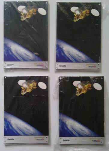 Lote De 40 Postales De Satelite Simón Bolívar De Venezuela