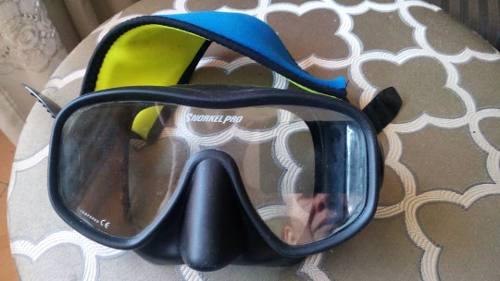 Mascara Y Snorkel Pro. Buceo Submarinismo