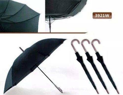 Paragua - Sombrilla Tipo Baston Negro Givenchy