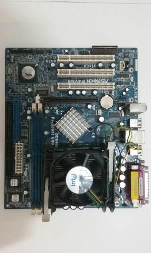 Tarjetas Madre Pentium 4 Modelos Varios Usadas