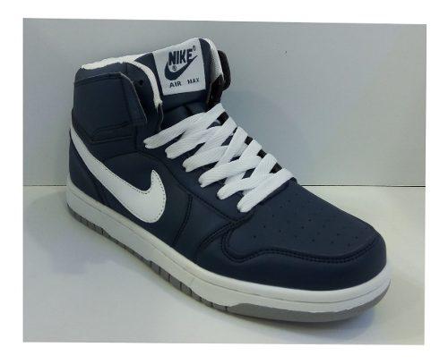 Zpt Botas Nike Air Max. Tallas . Azul Oscuro/blanco.