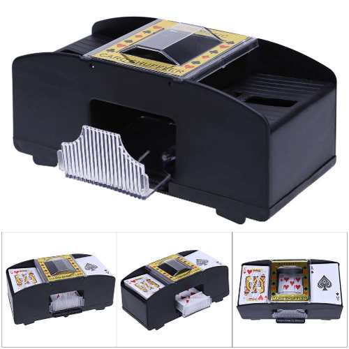 Barajado De Naipes Automático Mezclador De Mazos Cartas R4