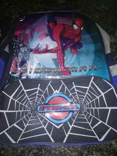 Bolso Escolar Spiderman Usado