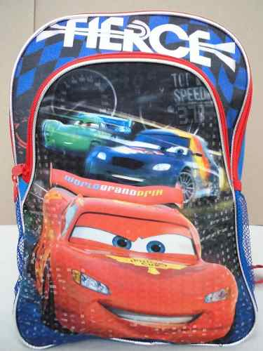 Bolso Morral Escolar Colegio Infantil Niños Cars Disney