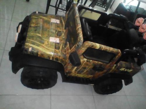 Carrito Electrico Jeep Renegado