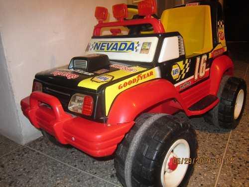 Carrito Jeep Electrico Montable Para Niños Con Su Batería