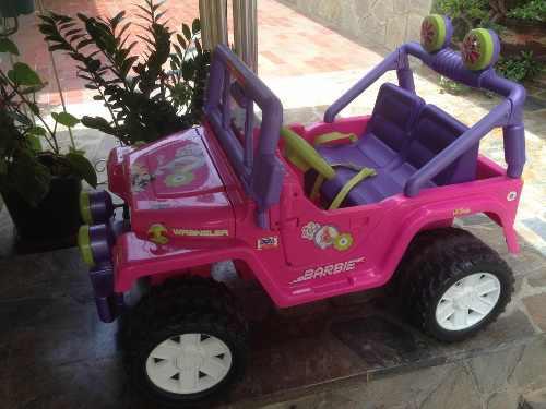 Carro Electrico De La Barbie, Tipo Jeep