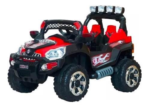 Carro Jeep Recargable Eléctrico Montable Para Niños