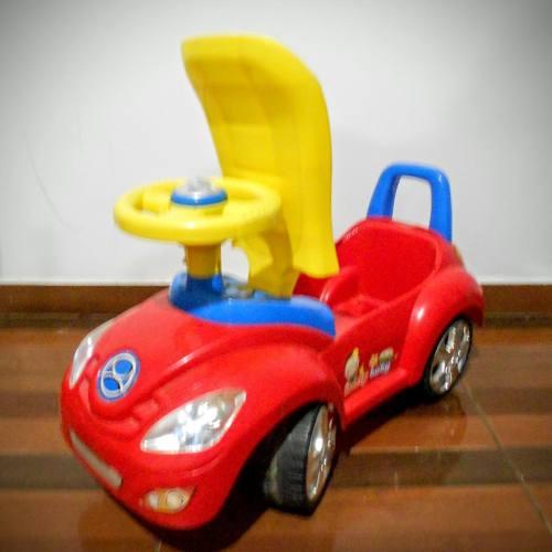 Carro Montable Para Niños Grande Con Deposito Y Sonido