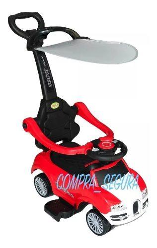 Carro Paseador Montable Bebé Niños Sonidos