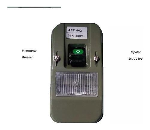 Interruptor Breaker Tipo Ticino 26a 380v