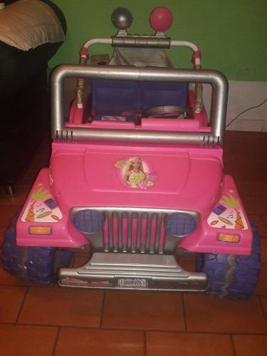 Jeep De La Barbie Electrico