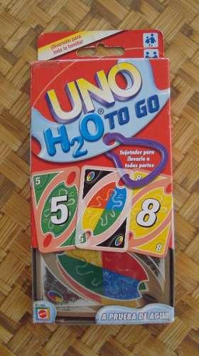 Juego Cartas Uno H2o To Go Mattel Original