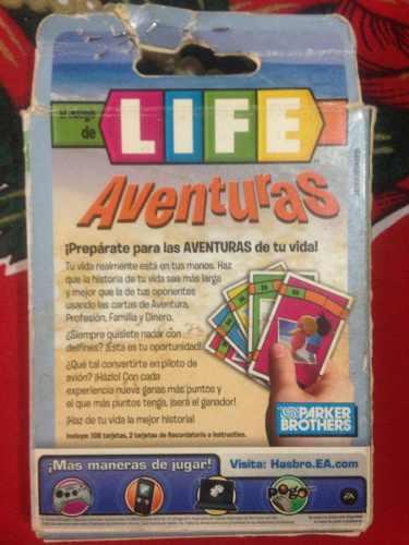 Juego De Cartas Life Aventuras De Hasbro