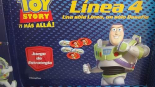 Juego De Mesa Linea 4 Toy Story Disney