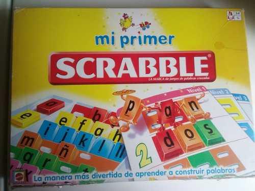 Juego De Mesa Mi Primer Scrabble Para Niños De 3 A 6 Años