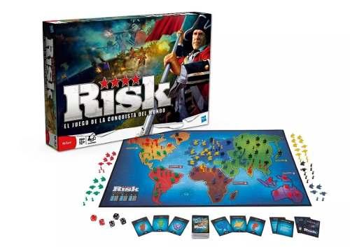 Juego De Mesa Risk Original Hasbro La Conquista