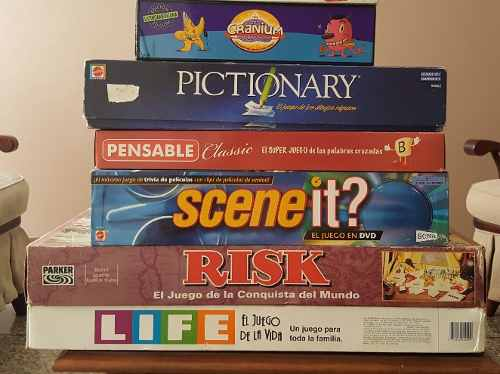 Juegos De Mesa Completos Muy Divertidos Y Bien Conservados
