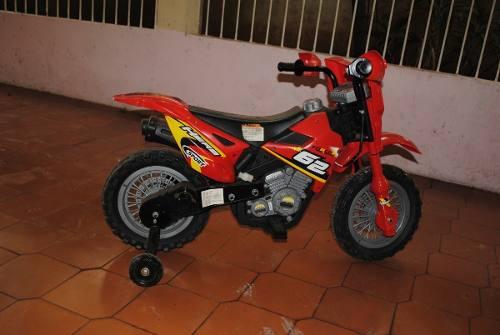 Moto Electrica Para Niños Sport